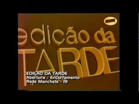 Vinheta Edição da Tarde (1990-1995) Rede Manchete