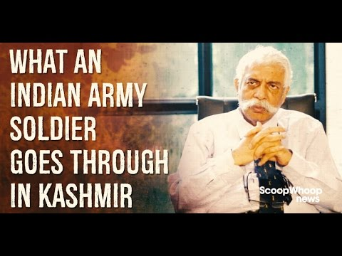 SW News: General VK Bakshi On What Life's Like For An Armyman In Kashmir
