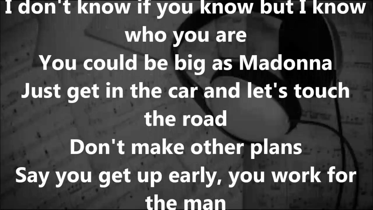 Drake - Madonna Lyrics - YouTube