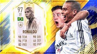 FIFA 19 : PRIME ICON RONALDO SQUAD BUILDER BATTLE vs NoHandGaming 😱🔥