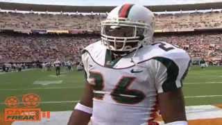 Defensive Back U   All Time Miami DB's Highlight
