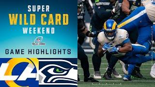 Rams vs. Seahawks Super Wild Card Weekend Highlights
