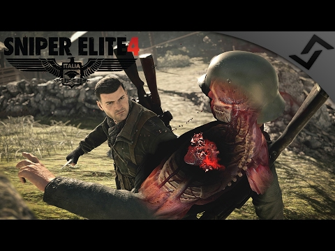 Nut & Headshots in COOP - Sniper Elite 4 - Going After the Hs 293! - SE4 Mission 1 Gameplay