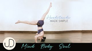 *HEADSTANDS MADE SIMPLE* Watch Janine Delaney's step-by-step guide to headstands