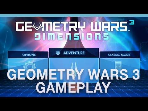 Geometry Wars 3: Dimensions gameplay hands-on with Digital Spy