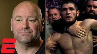 Video Dana White on Conor vs Khabib brawl, Floyd Mayweather, Brock Lesnar, Nate Diaz, GSP | MMA Interview download MP3, 3GP, MP4, WEBM, AVI, FLV Oktober 2018