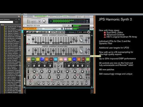 JPS Harmonic Synth 2 overview