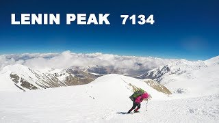 Lenin Peak 7134  Восхождение на Пик Ленина День 13-15