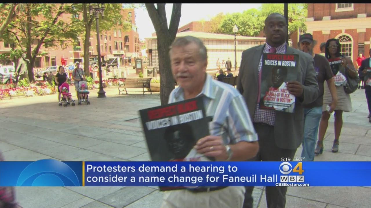 Protesters  Demanding Hearing For Name Change for landmark named after slave master