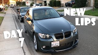 Adding Front and Rear Lip Spoilers for BMW 335i from IAA