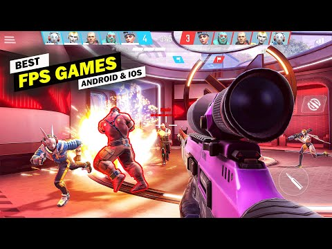 Top 10 New FPS Games For Android & IOS 2020! (Offline/Online)