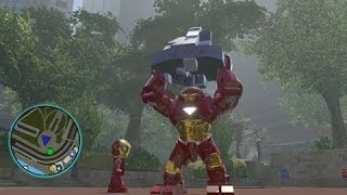LEGO Marvel Super Heroes - All Big-Fig Characters + Free Roam Gameplay