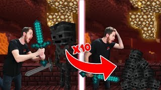Minecraft Survival Except Every Time You Break A Block IT MULTIPLIES! #4