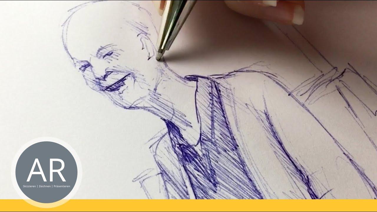 Menschen zeichnen lernen. Figuren zeichnen lernen ...