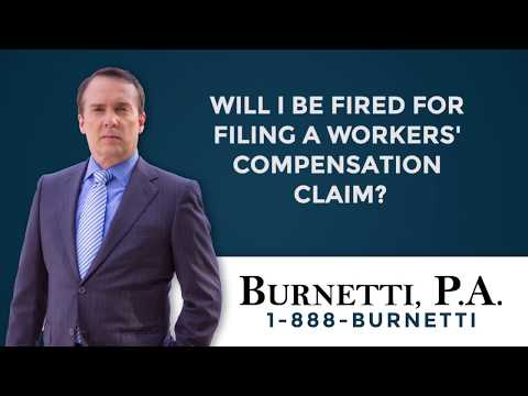 Will I Be Fired for Filing a Workers' Comp Claim?
