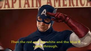 Captain America 1966 Theme Music (Lyrics)
