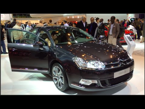 citroen c5 limousine 2015 in detail review walkaround. Black Bedroom Furniture Sets. Home Design Ideas