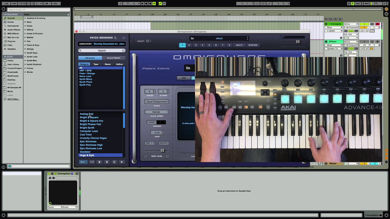 Worship Essentials for Omnisphere 1 & 2 - Jorge Silvestrini