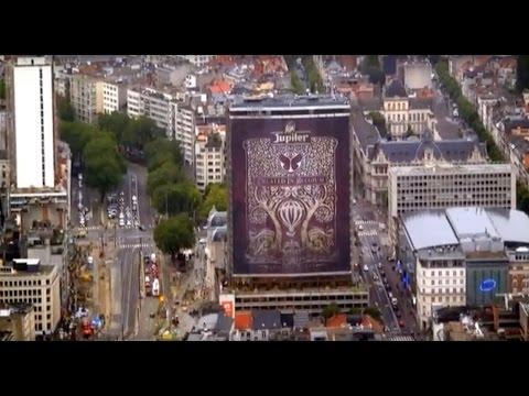 POP IMPACT - Jupiler AB InBev - Antwerp Tower