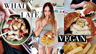 VEGAN WHAT I ATE TODAY + LIFE UPDATE!