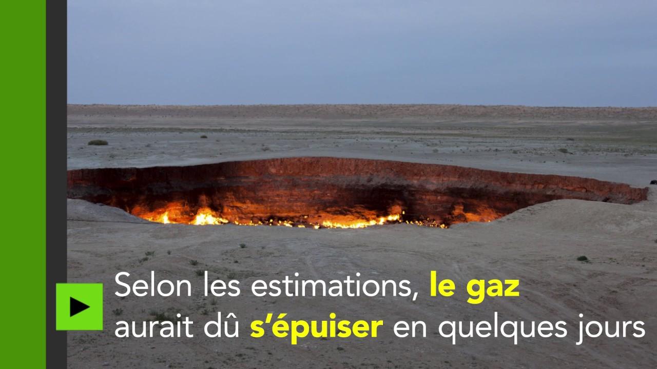 Aux portes de l 39 enfer d couvrez les flammes du crat re de derweze au turkmenistan youtube - Turkmenistan porte de l enfer ...
