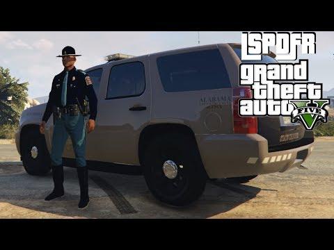 GTA Cops   GTA 5 (GTA V)   All 50 States   ALABAMA State Police and Dauphin Island Patrol   Ep: 21