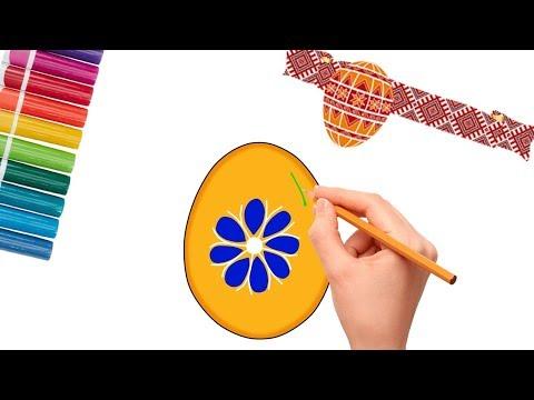 Писанки-малюємо з дітьми-Easter