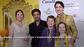Some people think Trudeau's fashion choices in India are so extra