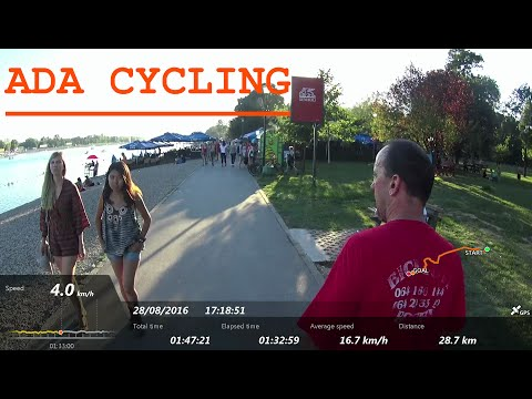 Pancevo - Belgrade Ada - Cycling
