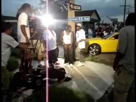 """B.G. """"My Hood"""" behind the scenes featuring Manny Fresh"""