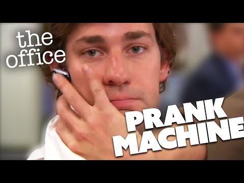 PRANK MACHINES | The Office US | Comedy Bites
