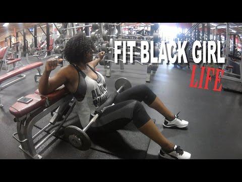 THE FIT BLACK GIRL LIFE + HEAVY LEG DAY TRAINING | BEAUTYCUTRIGHTFITNESS