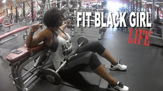 THE FIT BLACK GIRL LIFE + HEAVY LEG DAY TRAINING | BEAUTYCUTRIGHTFITNESS