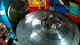 The Mystery Project - Part 7, tapping the discs, fitting taper bushes, new tool and a teaser