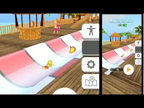 Aquapark.io Addictive Offline Game Play 🙈😂