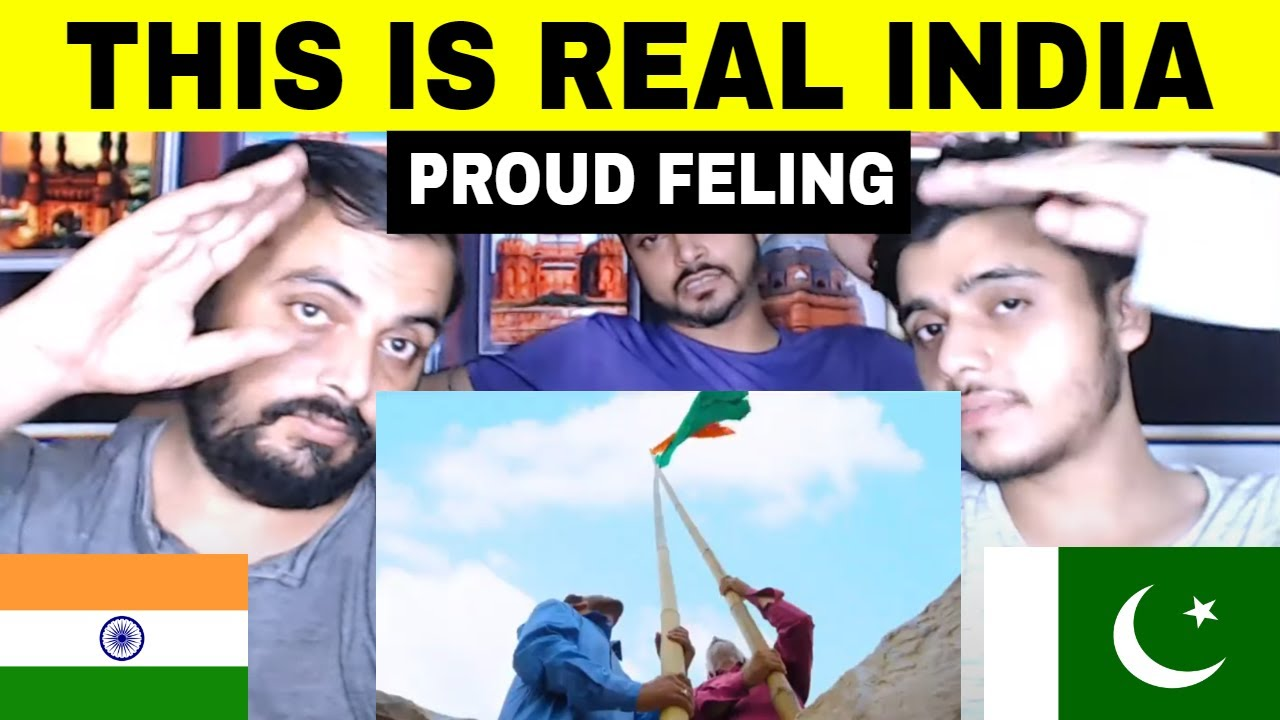 Pakistani Reaction on   This is Real India Love Each Other
