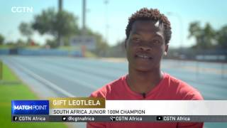 South African champ Leotlela eyeing to run a sub 10 seconds 100m race