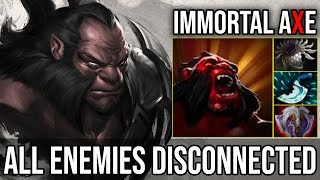 Best Offlaner [Axe] How to Make All Enemies Disconnected GODLIKE Axe Zero Death 7.19 Dota 2 FullGame
