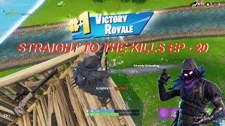 STRAIGHT TO THE KILLS EPISODE 20 - Fortnite Battle Royale Solo Win