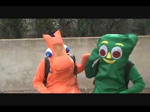 Gumby and Friends Go To College? - YouTube