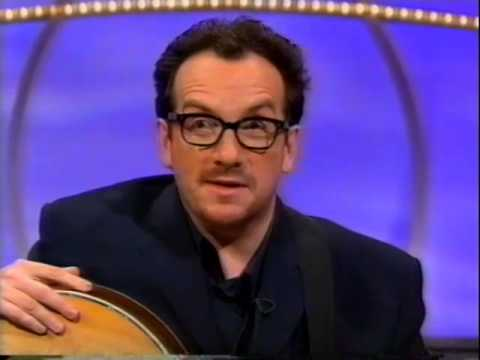Elvis Costello interview 1996 Tonight with Richard & Judy