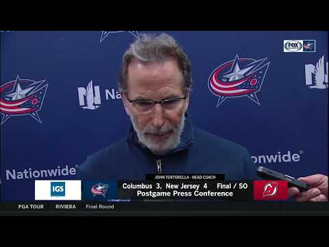 John Tortorella talks about matching up with the New Jersey Devils