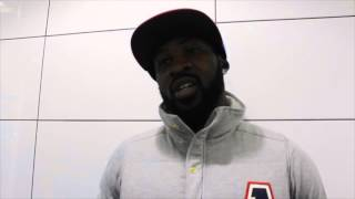 LARRY EKUNDAYO - 'IM HAPPY TO FIGHT SAM EGGINGTON, IM CONFIDENT OF BEATING ANYONE IN THE DIVISION'