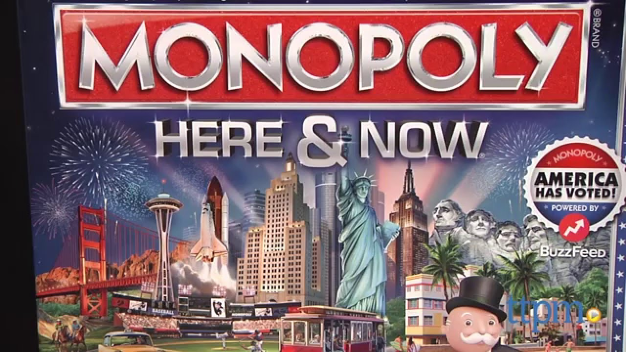 Monopoly Here And Now Review