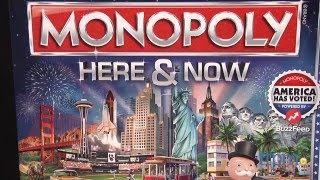Monopoly Here & Now from Hasbro