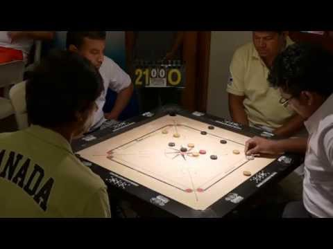 Carrom World Cup 2014 - Canada vs Qatar doubles
