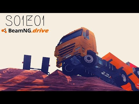 Beamng Drive: Seconds From Disaster (+Sound Effects)  Part 1  - S01E01