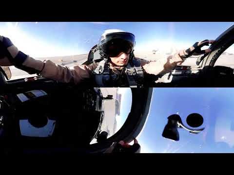 Amazing 360° Cockpit View   F 5 Fighter Jet & AH 1Z Viper Helicopter
