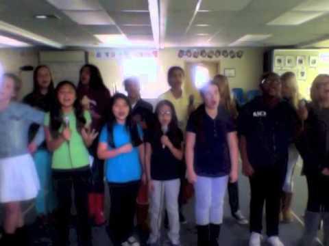 "Chatsworth Hills Academy Middle School Glee Club - "" Mirrors """