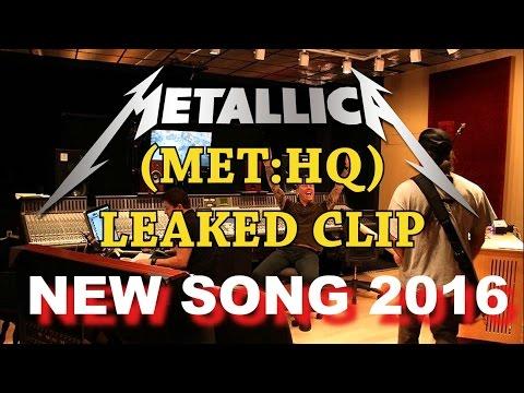 Metallica - NEW SONG 2016!!! (LEAKED STUDIO CLIP)